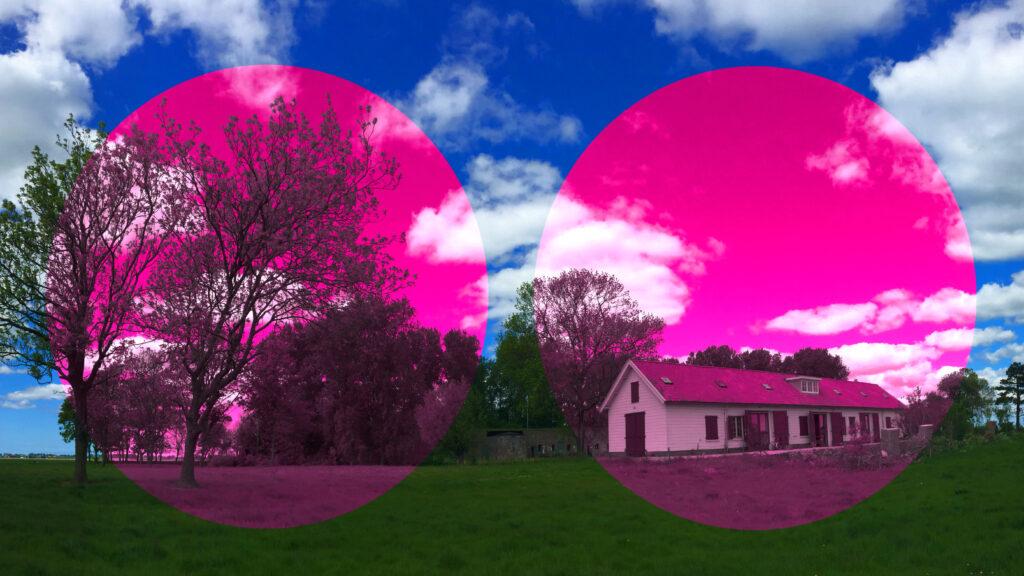 kijkje door roze bril naar de Kunstgenieloods